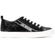 Sneakers mit Pailletten
