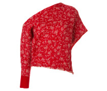 Einschultriger Pullover