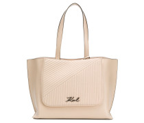 Gesteppter 'K/Signature' Shopper