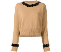 Pullover mit großen Pailletten