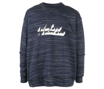 Sweatshirt in Distressed-Optik