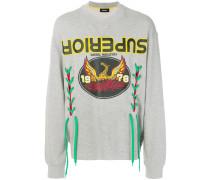 'Superior' Sweatshirt mit Schnürungen