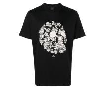 T-Shirt mit Äffchen-Totenkopf