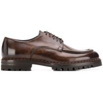 Oxford-Schuhe mit klobiger Sohle