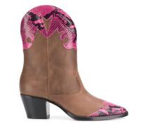 Cowboy-Stiefel mit Python-Effekt