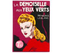 'La Demoiselle Aux Yeux Verts' Clutch im Buchdesign