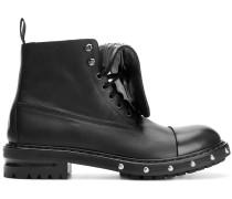 Military-Stiefel mit Nieten