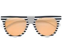 Sonnenbrille mit gestreiftem Gestell