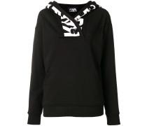 logo neckline jumper