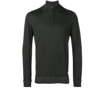 zip front pullover