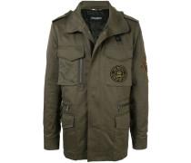 Military-Jacke mit Reißverschluss