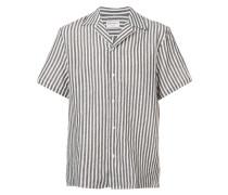 Tahiti striped short sleeve shirt