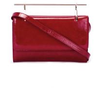 Handtasche in Lackleder-Optik