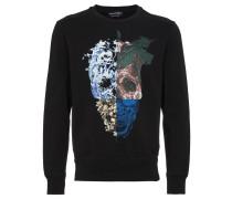 Nature Skull Print Sweatshirt