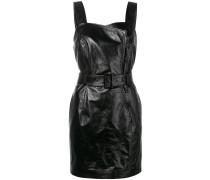 Schmales Kleid mit Gürtel
