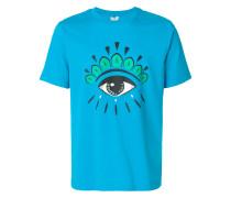 T-Shirt mit Augen-Print