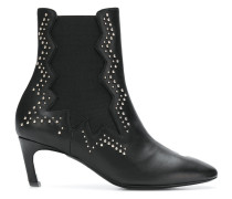 embellished studded boots