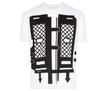 T-Shirt mit Flatpack-Print