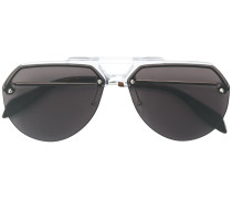 Pilotenbrille mit Doppelsteg