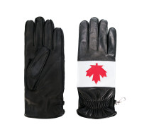Handschuhe mit Ahornblatt-Motiv