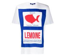 """T-Shirt mit """"Lemoine""""-Print"""