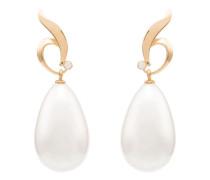 24kt vergoldete 'Vanity of the Pearl' Ohrringe