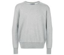 'Linear' Sweatshirt mit Rundhalsausschnitt