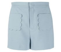 Shorts mit gewellten Kanten