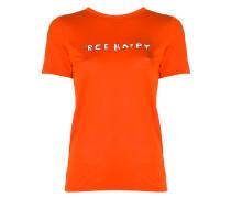 "T-Shirt mit ""Bee Happy""-Print"