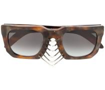 'U3' Sonnenbrille mit Nieten