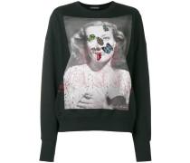 Pullover mit Käfer-Stickerei
