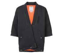Daunenjacke im Kimono-Look