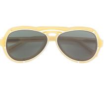 'McQueen' Pilotenbrille
