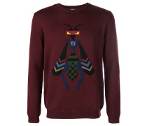 Super Bugs embroidered sweater