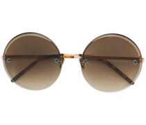 Kristallbesetzte Sonnenbrille