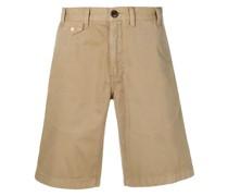 stone-washed shorts