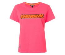 'Somewhere' T-Shirt mit Print