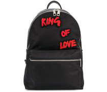 Vulcano royal patch backpack