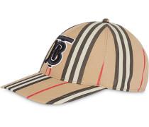 Baseballkappe mit Streifen