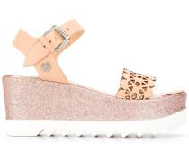 Sandalen mit Glitter