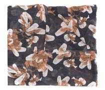 Langer Schal mit Blumen-Print