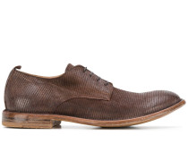 Oxford-Schuhe in gewebter Optik