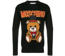 Pullover mit Teddymotiv