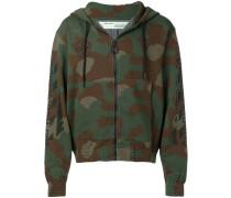 Kapuzenjacke im Camouflage-Look