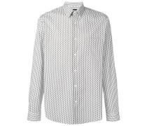 Gepunktetes 'Irving' Hemd