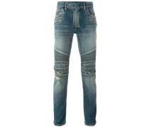 Jeans im Biker-Look