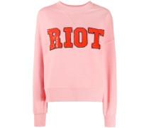 'Riot' Pullover mit Pailletten