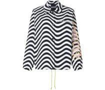 Jacke mit Zebra-Print