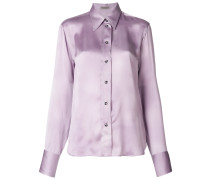 crystal button shirt