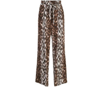 paper bag palazzo trousers